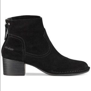 Ugg Bandara Ankle Suede Boot SZ 7.5 Black